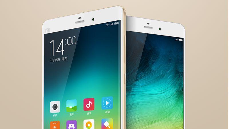 Xiaomi Mi Note 2 e Redmi 4 in foto