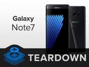 iFixit esamina il nuovo Samsung Galaxy Note 7