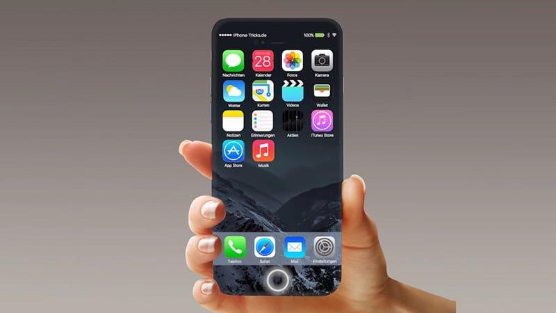 iPhone 8 segnerà l'addio del tasto Home