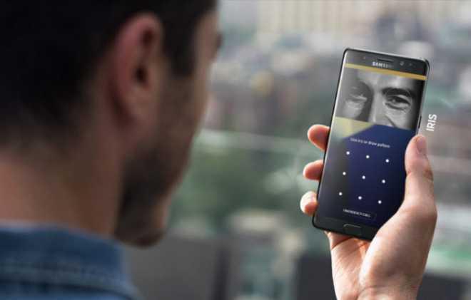 Scansione dell'iride su Note 7 - Samsung punta tutto sulla sicurezza