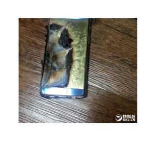 Galaxy Note 7 esplode durante la ricarica