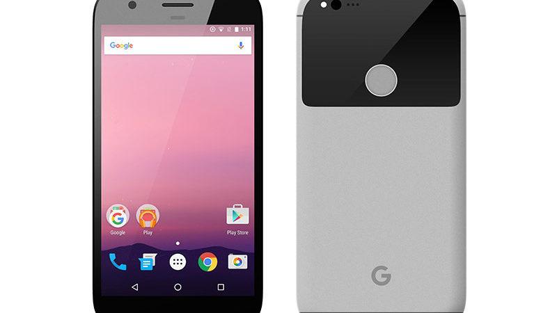Le foto dei pannelli frontali di Google Pixel e Pixel XL