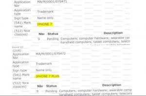 Le nuove funzioni di iPhone 7 depositate in misteriori brevetti