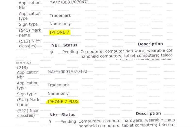 Le nuove funzioni di iPhone 7 depositate in misteriosi brevetti