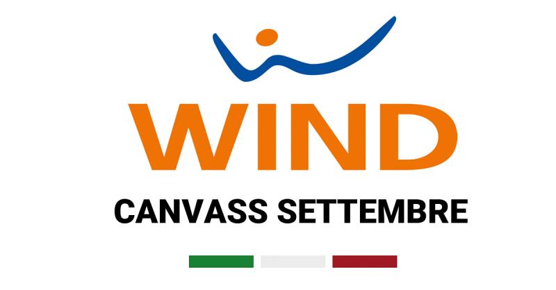 Nuove offerte Wind, ecco il canvass di settembre