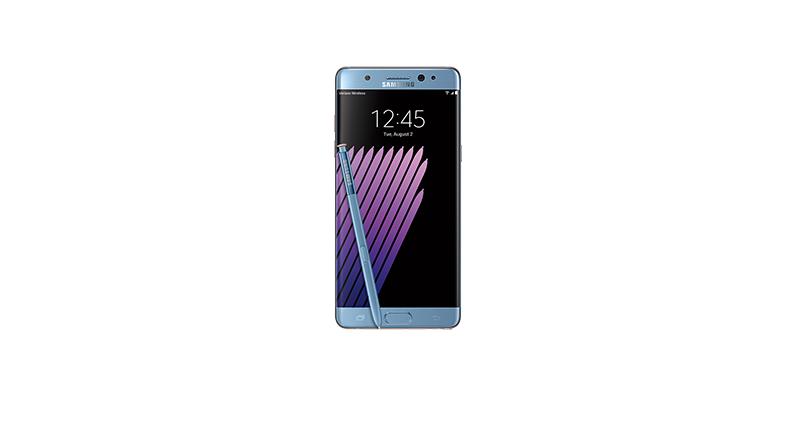 Nuovo comunicato Samsung per Galaxy Note 7