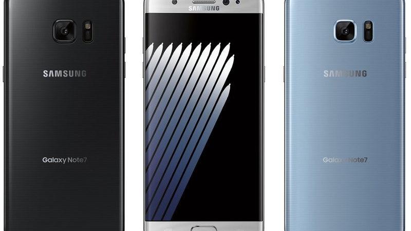 Le nuove scorte di Samsung Galaxy Note 7 arrivano in USA