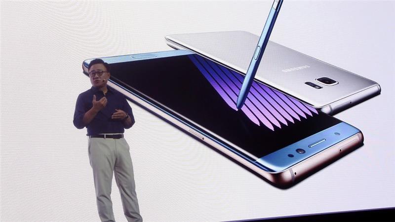 Samsung invia notifiche ai possessori di Note 7