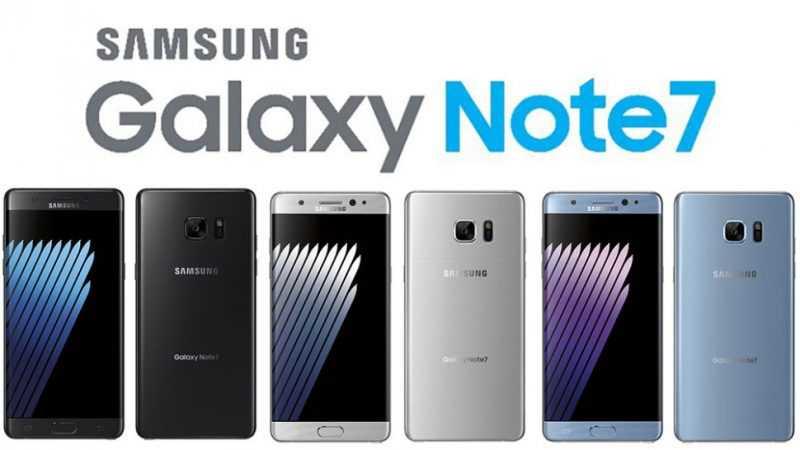 Samsung si prepara al ritiro degli attuali Note 7