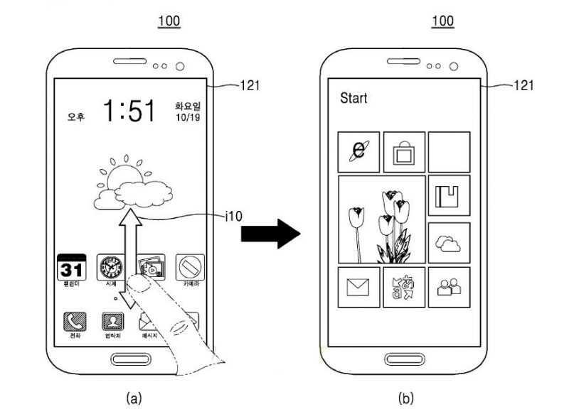 Samsung sta pensando ad uno smartphone dual boot con Android e Windows