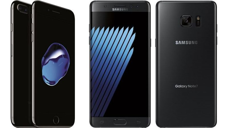 iPhone 7 vs Samsung Galaxy Note 7 in un primo speed test