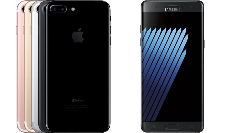 iPhone 7 vs Samsung Galaxy Note 7: fotocamere a confronto