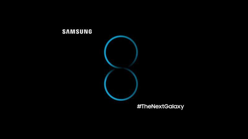 Samsung Galaxy S8 con sensore di impronte ottico