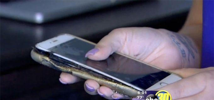 iPhone 6 Plus esplode durante la ricarica