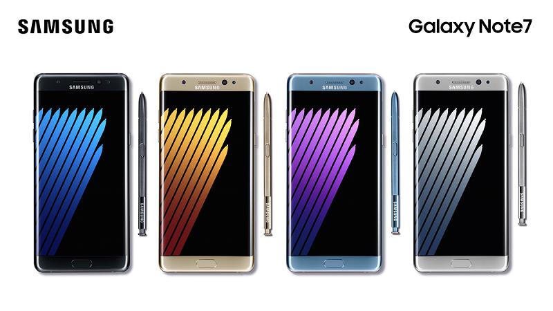Galaxy Note 7, nuovo aggiornamento software che ne limita la carica