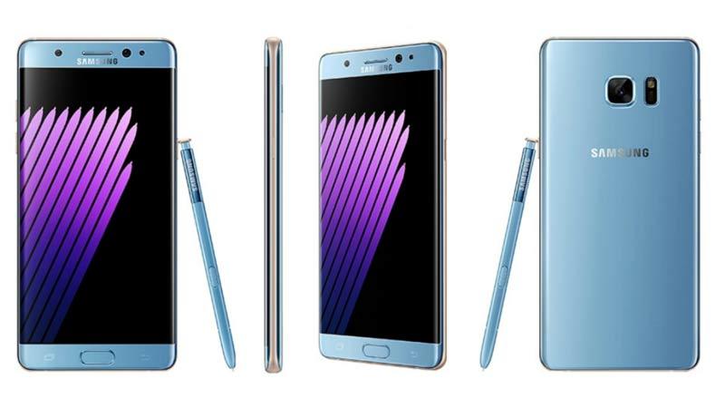 Samsung Galaxy Note 7, nel 2017 si ritorna in vendita?