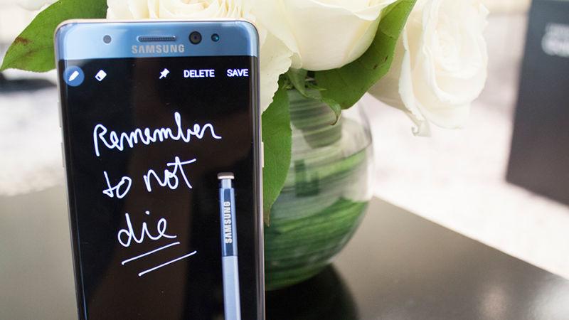 Samsung, i clienti sono dubbiosi sulle sue batterie
