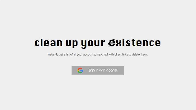Deseat.me: come eliminare la nostra identità dal web