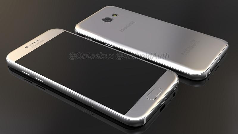"""Samsung Galaxy A5 (2017) display da 5,2"""" e 3 GB di RAM"""