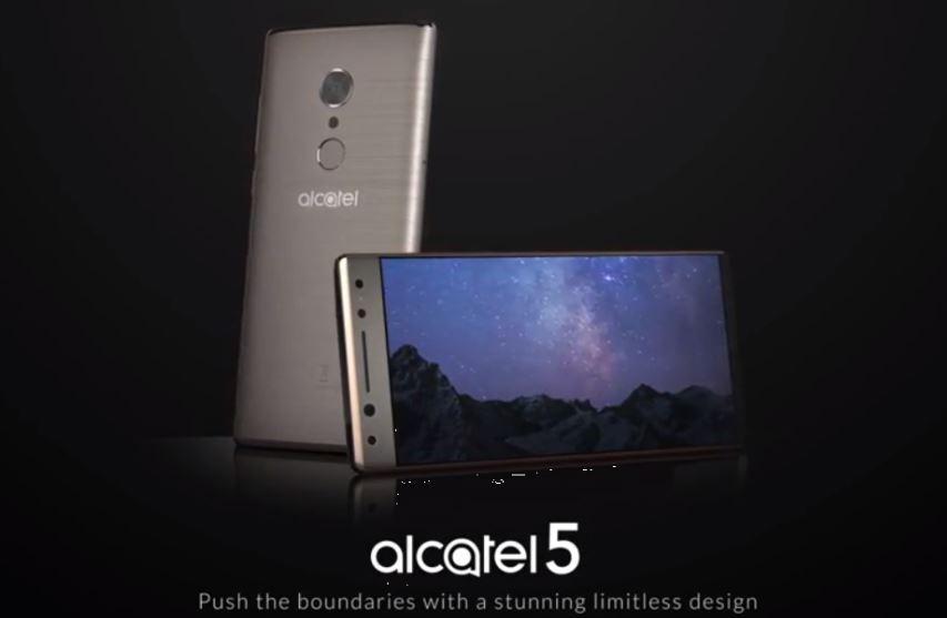 Alcatel 5 design