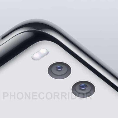 Xiaomi Mi 7 uno spicchio del design