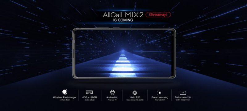 AllCall Mix2 dettagli e design. Toccato con mano il nuovo smartphone