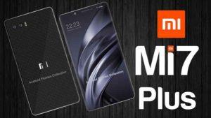 Xiaomi Mi 7 rumors sul prezzo di lancio