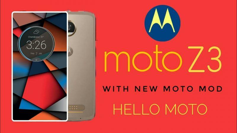 Moto Z3, Moto Z3 Play, nuovi dettagli in arrivo