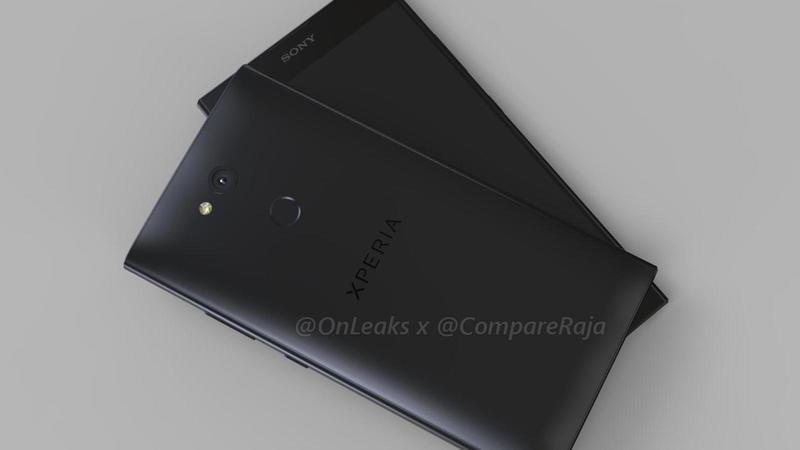 Sony Xperia L2, ecco il design dello smartphone