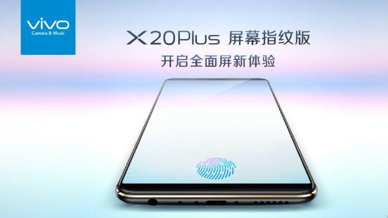 Annunciato ufficialmente Vivo X20 Plus UD
