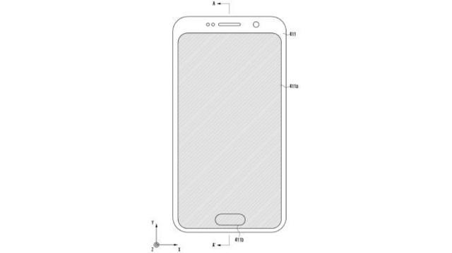 lettore d'impronta, brevetto Samsung
