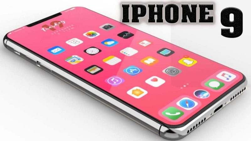 iPhone 9 nuovo notch