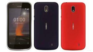 Nokia 1 certificato FCC