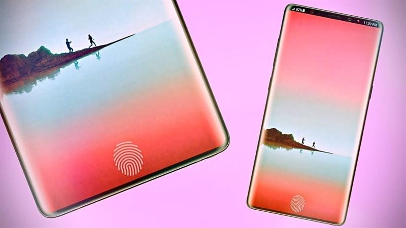 Note 9 ptorebbe avere il lettore d'impronta a schermo