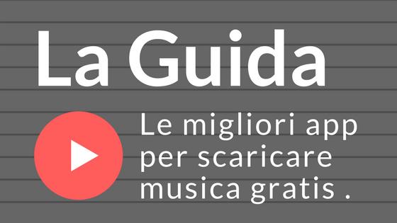 scarica musica gratis