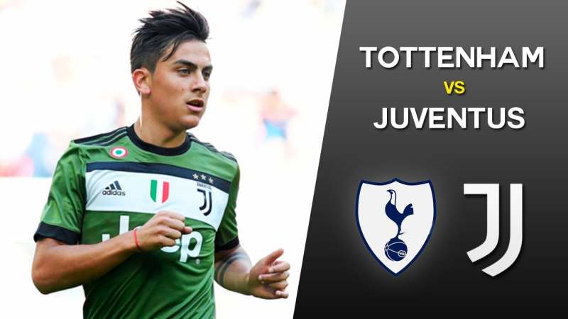 Come vedere Tottenham-Juventus in streaming