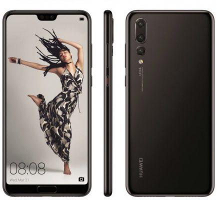 Huawei P20 design della versione Lite