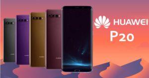 Huawei P20 news