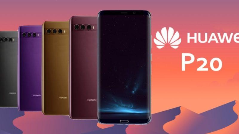 Huawei P20 nuove immagini e specifiche tecniche