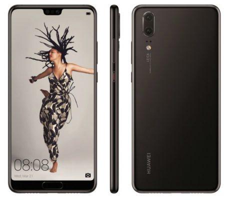 """Huawei P20 design del modello """"base"""""""