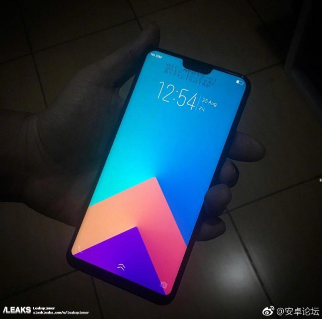Vivo V9 leak del design