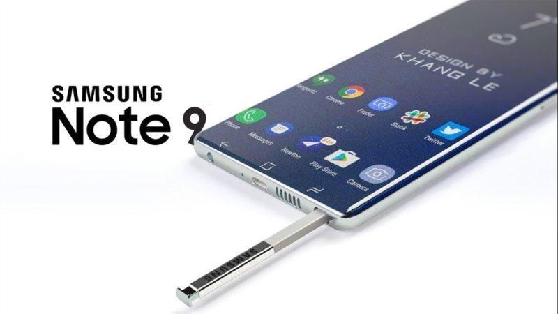 Samsung Galaxy Note 9 potrebbe avere una super batteria