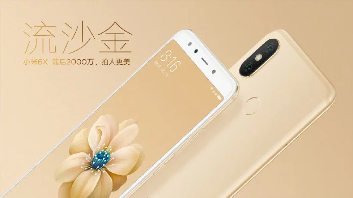 Xiaomi Mi 6X immagini ufficiali arrivano il giorno prima del lancio
