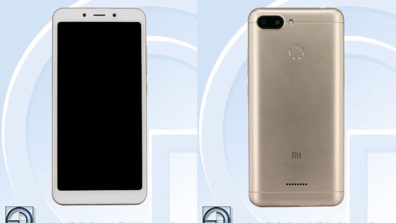 Xiaomi Redmi A6 appare su TENAA con immagini e dettagli