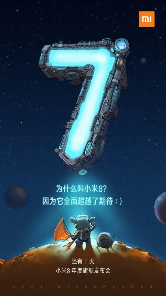 Xiaomi Mi 8 le origini