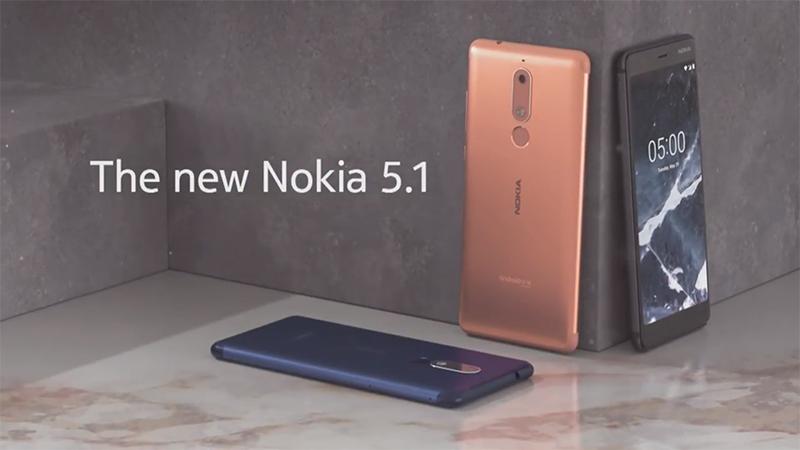 Nokia presenta la lineup per il mercato medio-basso: Nokia 2.1, 3.1 e 5.1