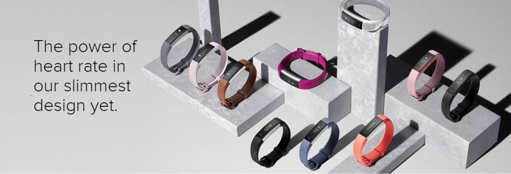 Fitbit Alta design