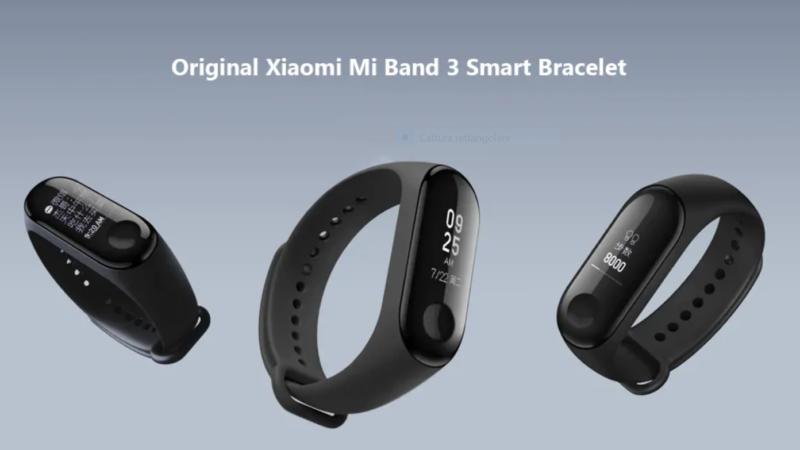 Xiaomi Mi Band 3 caratteristiche tecniche e prezzo