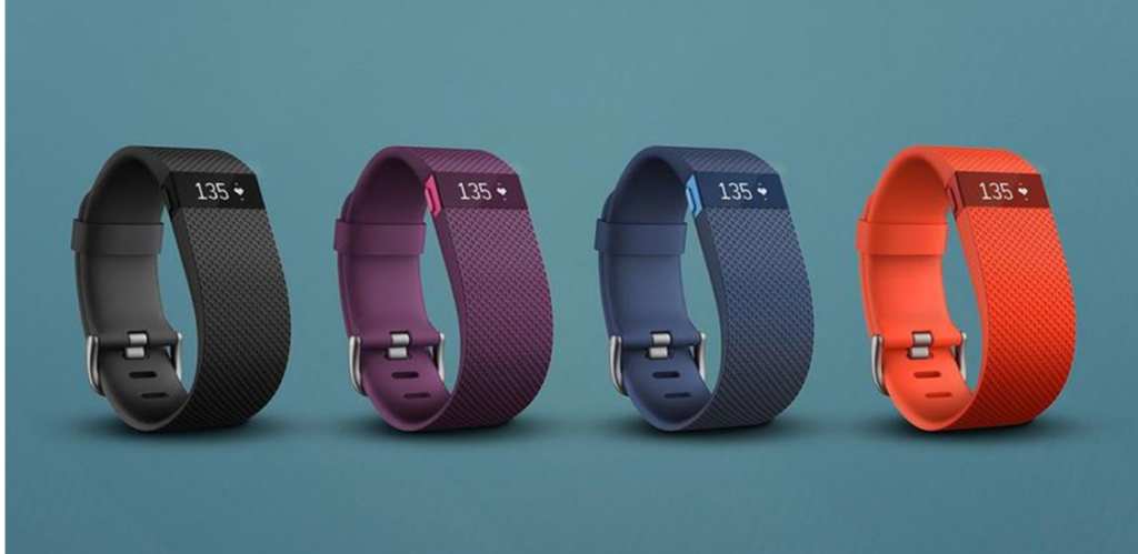 Fitbit charge hr design
