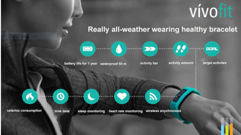 Garmin Vivofit caratteristiche tecniche e prezzo